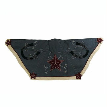 Christmas Tree Skirt - Western Theme
