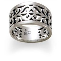 Open Adorned Ring: James Avery