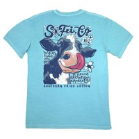 Cow Lick Tee by Southern Fried Cotton