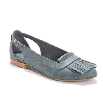SALE 25% OFF! Cherokee - Every day Flats with adjustable Fringes women's shoes