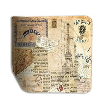 Vintage Paris Effel Tower Leather Business ID Passport Holder Protector Cover _SUPERTRAMPshop