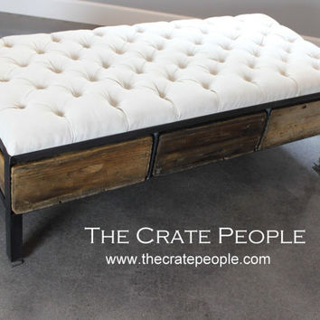 hack tufted cml love the crate my assembling craftify base knagglig ottoman wood storage ikea pine