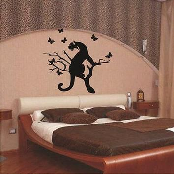 puma sticker stylish zoo animals decor wall decal art vinyl sticker tr638  number 3