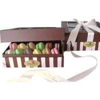Leilalove **12 **French Macaron, 12 Delightful all natural flavors