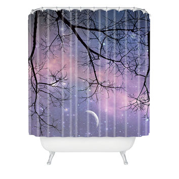 Shannon Clark Twinkle Twinkle Shower Curtain