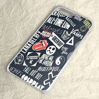 Coldplay 5sos All Time Low Lana Del Rey 1975 iPhone 6 Case
