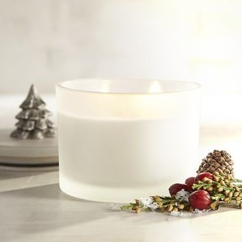 Holiday Forest Tree Filled Candle