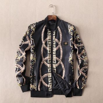 Versace Fashion Casual Cardigan Jacket Coat