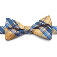 Croft & Barrow Tartan Plaid Pre-Tied Bow Tie - Men, Size: One