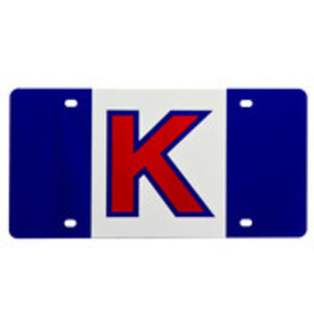 Kansas Jayhawks Game Day Flag Car Accessory License Plate - 262579