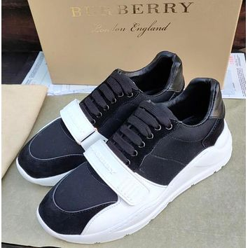 BURBERRY millimeter classic sports shoes-1