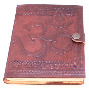 Small Camel Leather Journals
