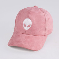 'Stranger Things' Faux Suede Baseball Cap