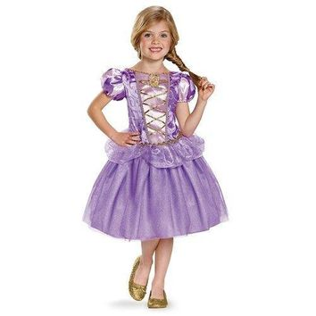 Disguise Rapunzel Classic Disney Princess Tangled Costume Small 4-6X One Color