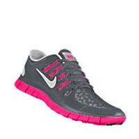 Nike Free 5.0 Shield iD Custom Women's Running Shoes - Grey