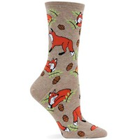Hot Sox Women's Foxes Sock