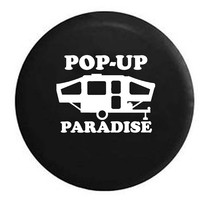 Pop-Up Paradise Popup RV Camper Jeep Spare Tire Cover