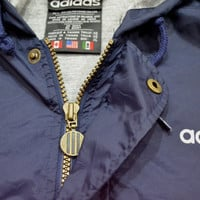 VIntage adidas long jacket 90s nylon oldschool