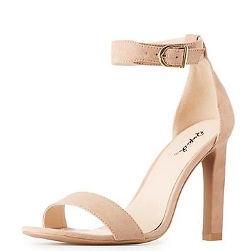 Qupid Two-Piece Dress Sandals | Charlotte Russe