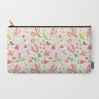 Summer Delight Carry-All Pouch by Noonday Design | Society6