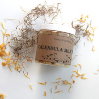 Calendula Milk Bath, Goat Milk Bath, Floral Bath Salts, Organic Bath Salts, Natural Bath Salts, Bath Soak, Bath Salts