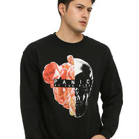 Panic! At The Disco Rose Skull Sweatshirt