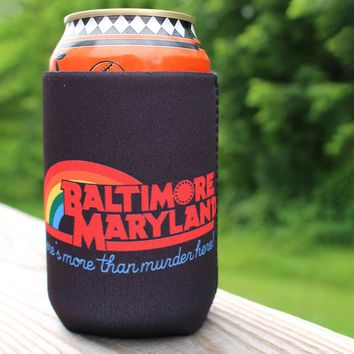 There's More Than Murder Here (Black) / Koozie