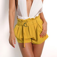 Casual Pants Hot Sale Summer High Waist Club Shorts [11377873039]