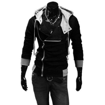 Hot Sale Men Sweatshirts & Hoodies Male Tracksuit Hooded Jackets Fashion Casual Jackets For Men M-6XL Assassins Creed