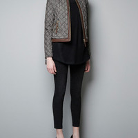 FANTASY QUILTED JACKET - Blazers - Woman - ZARA United States