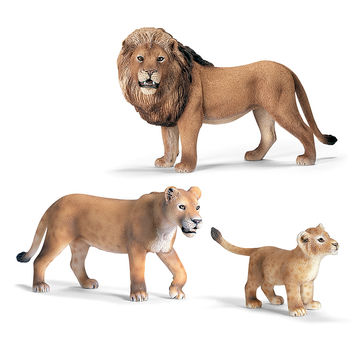 Schleich Lion Family Figurine Set | zulily