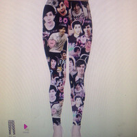 Danisnotonfire & AmazingPhil Leggings (Design #2)