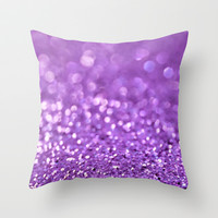 Wild Orchid Throw Pillow by Lisa Argyropoulos