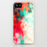 Painted Clouds VIII iPhone & iPod Case by Caleb Troy