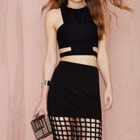 Nasty Gal Rattle the Cage Skirt