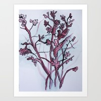 Watercolor IV Art Print by Alayna H.