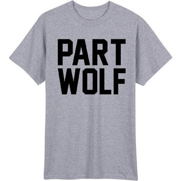 Part Wolf Women's Casual T-Shirt
