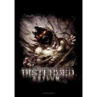 Disturbed - Poster Flag