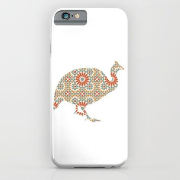 TURKEY SILHOUETTE WITH PATTERN iPhone & iPod Case by deificus Art
