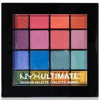 NYX Professional Makeup Ultimate Shadow Palette - Brights - Makeup - Beauty - Macy's