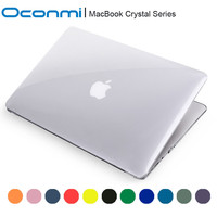 Transparent crystal Case For Apple macbook Air Pro with Retina 11 12 13 15 inch For Macbook Pro 13 inch A1706 A1708 case clear