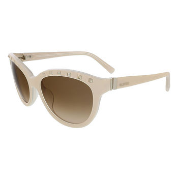 Valentino Ivory/Cream Cat Eye Valentino Sunglasses