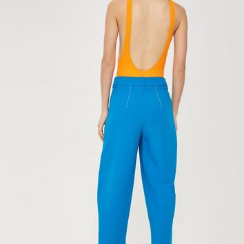 Contrast Stitch Suit Trousers | Topshop