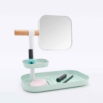 Vana Dressing Table Organiser in Mint - Urban Outfitters