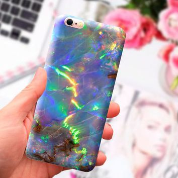 Opal iphone 7 plus CASE, iPhone 7 case, iPhone 6s case, iPhone 5S case, iPad case, marble, iPhone SE case, iPhone case, Phone marble case