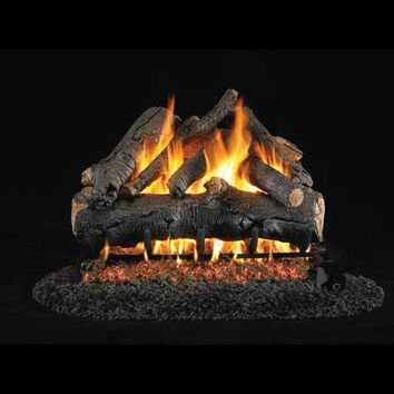 "Peterson Real Fyre Vented 24"" American Oak Gas Logs"