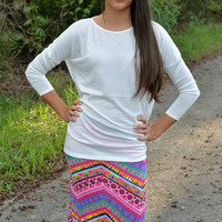 Take Me To The Candy Shop Maxi Skirt