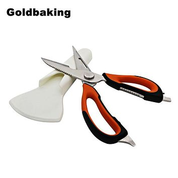 Multifunction Kitchen Cutlery with Magnetic Holder Cooking Scissor Kitchen Scissors Shears