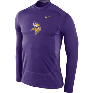 Minnesota Vikings Women's Tri-Blend Slim Fit T-Shirt - Purple