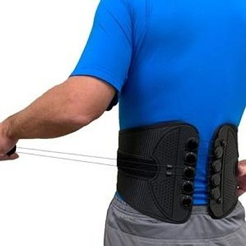 SB Adjustable Back & Abdominal Support Brace